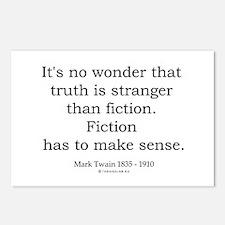 Mark Twain 5 Postcards (Package of 8)