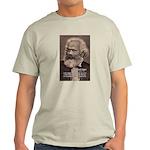 Humor in Politics: Karl Marx Ash Grey T-Shirt