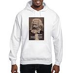 Humor in Politics: Karl Marx Hooded Sweatshirt