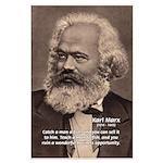 Humor in Politics: Karl Marx Large Poster