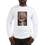 Humor in Politics: Karl Marx Long Sleeve T-Shirt