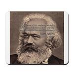 Humor in Politics: Karl Marx Mousepad