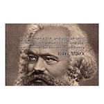 Humor in Politics: Karl Marx Postcards (Package of