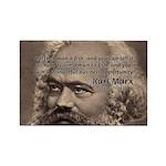 Humor in Politics: Karl Marx Rectangle Magnet