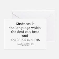 Mark Twain 6 Greeting Cards (Pk of 20)