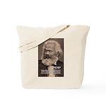 Humor in Politics: Karl Marx Tote Bag