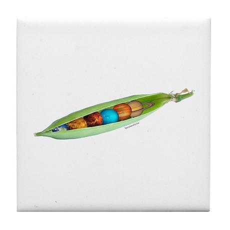 World Peas 3 Tile Coaster