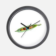World Peas 3 Wall Clock
