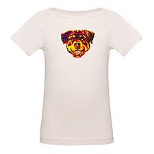Women's Plus Size V-Neck T-Shirt (Black)