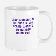 fun with braille Mug