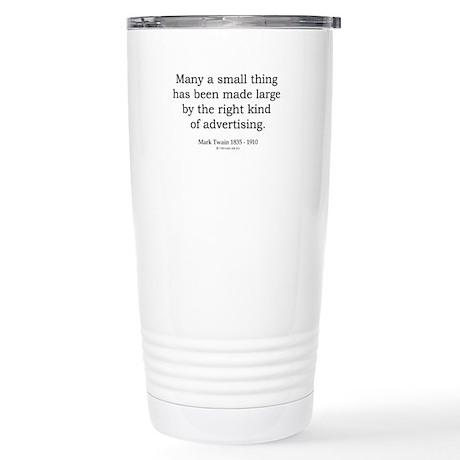 Mark Twain 9 Stainless Steel Travel Mug