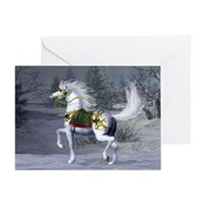 2009 Unicorn Holiday Greeting Card