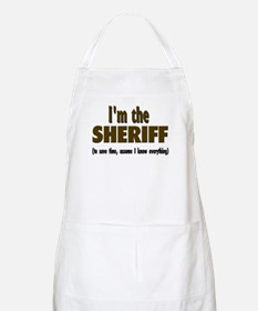 I'm the Sheriff Apron