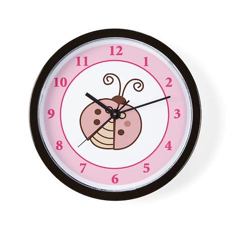 Lullabye Ladybug Wall Clock