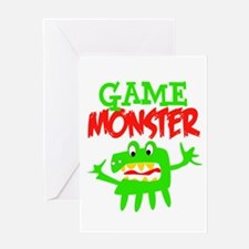 Game Monster Greeting Card