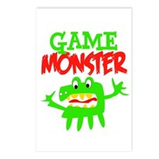 Game Monster Postcards (Package of 8)