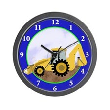Backhoe Wall Clock