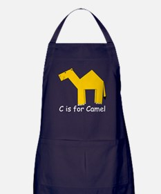 C is for Camel Apron (dark)