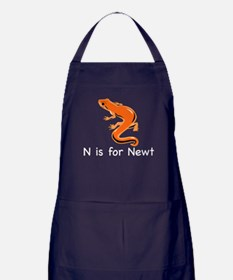 N is for Newt Apron (dark)