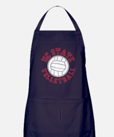 UC State Volleyball Apron (dark)