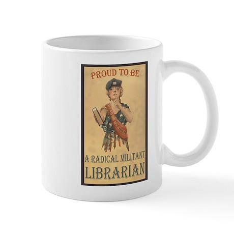 Radical Militant Librarian Mug