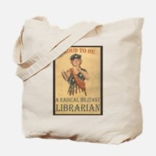 Radical Militant Librarian Tote Bag