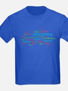Geocaching Word Cloud T