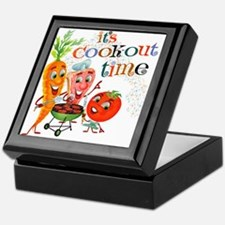 Cook-Out Time Keepsake Box