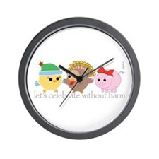 Let's Celebrate Wall Clock