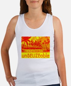 Unique Belize Women's Tank Top