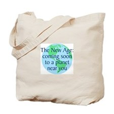 New Age Coming Soon Tote Bag