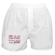 Debt Capital Boxer Shorts