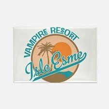 Isle Esme - Vampire Resort Rectangle Magnet