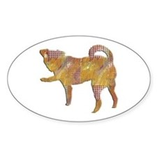 Smooth Brussels Griffon Oval Decal