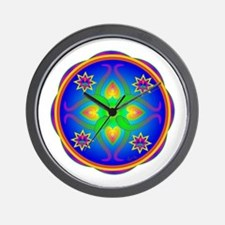 Healing Mandala Wall Clock