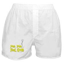 Pee Pee Feel Good Boxer Shorts