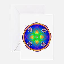 Healing Mandala Greeting Card