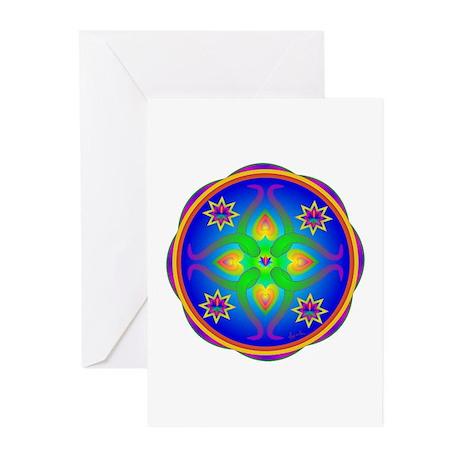 Healing Mandala Greeting Cards (Pk of 10)