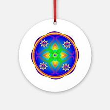 Healing Mandala Ornament (Round)