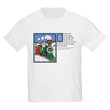 A Magical Christmas Train Lyr T-Shirt