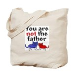 Not father (cats) Tote Bag