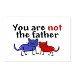 Not father (cats) Postcards (Package of 8)