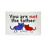 Not father (cats) Rectangle Magnet (100 pack)