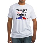 Not father (cats) Fitted T-Shirt