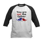 Not father (cats) Kids Baseball Jersey
