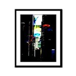 """City Submerse"" Framed Panel Print"