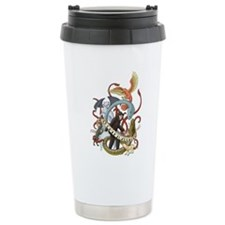 I Heart Cryptozoology Travel Mug
