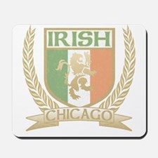 Chicago Irish Crest Mousepad