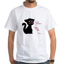 Ninja Kitty - White Shirt