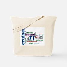 FJ Cruiser word cloud Tote Bag